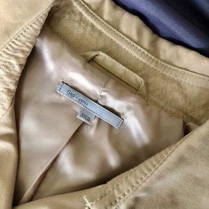 GAP Jackets & Coats - NWOT GAP Beige Military Trench Coat - Size S